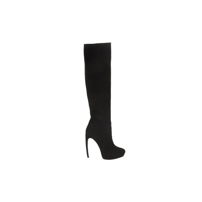 ALEXANDER MCQUEEN SLOUCHY KNEE-HIGH ARMADILLO BOOT