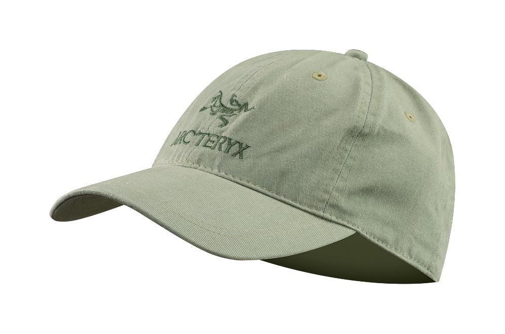 Arcteryx Men Silver Sage Embroidered Bird/Word Cap