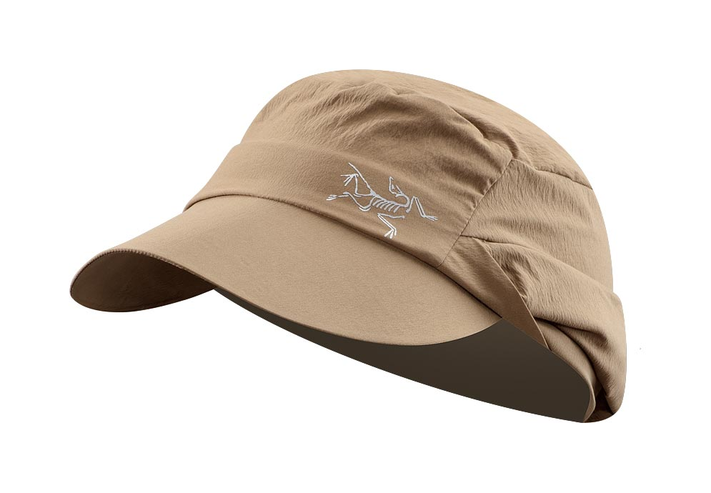 Arcteryx Men Nubian Brown Spiro Cap - New
