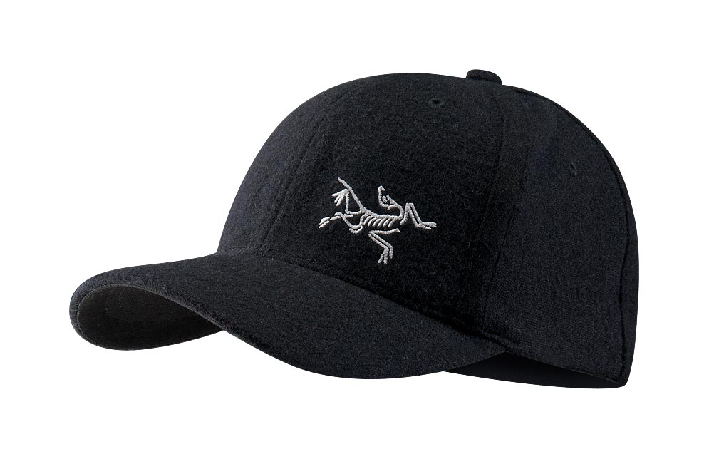 Arcteryx Men Black Wool Bird Cap
