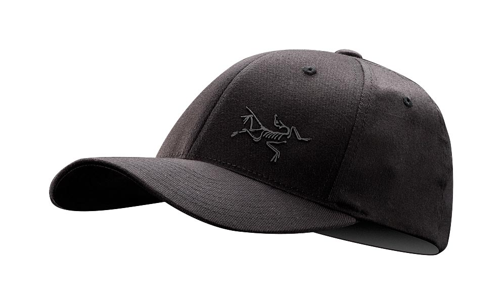 Arcteryx Men Black Bird Cap