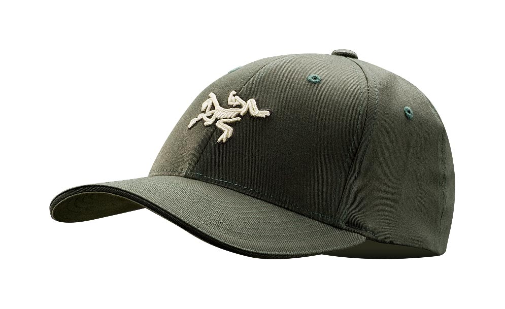 Arcteryx Men Caper Embroidered Bird Cap