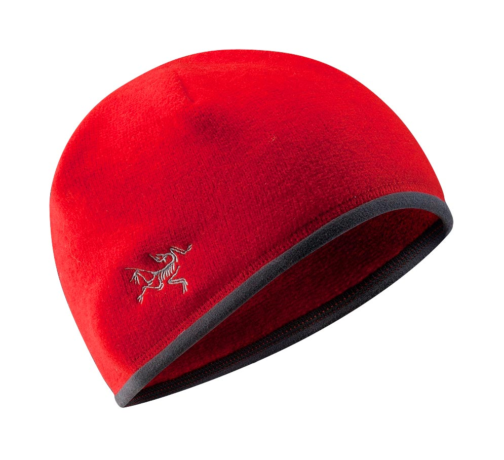 Arcteryx Men Road Rash Red Covert Beanie