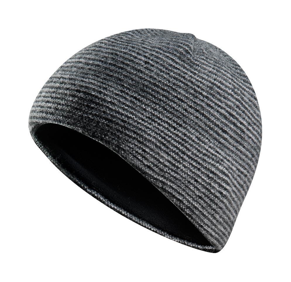 Arcteryx Men Heathered Black Wooli Toque
