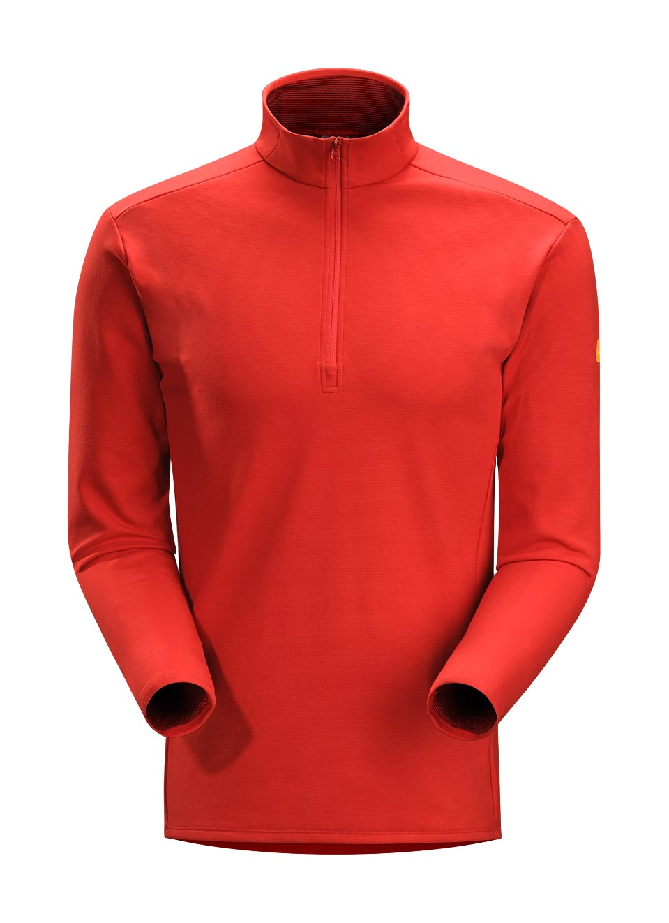 Arcteryx Men Cardinal Phase SV Zip Neck LS