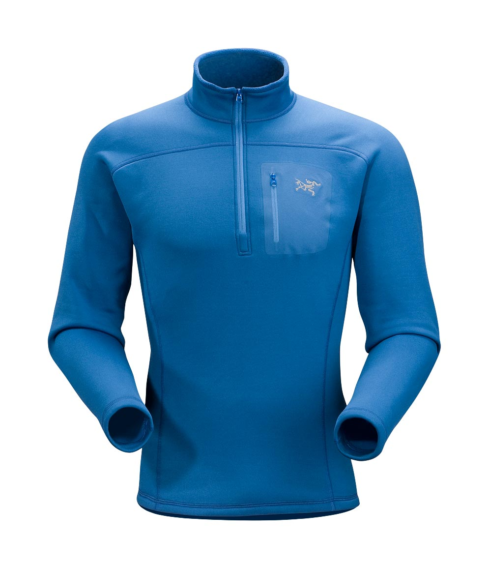 Arcteryx Men Miro Blue Rho AR Top