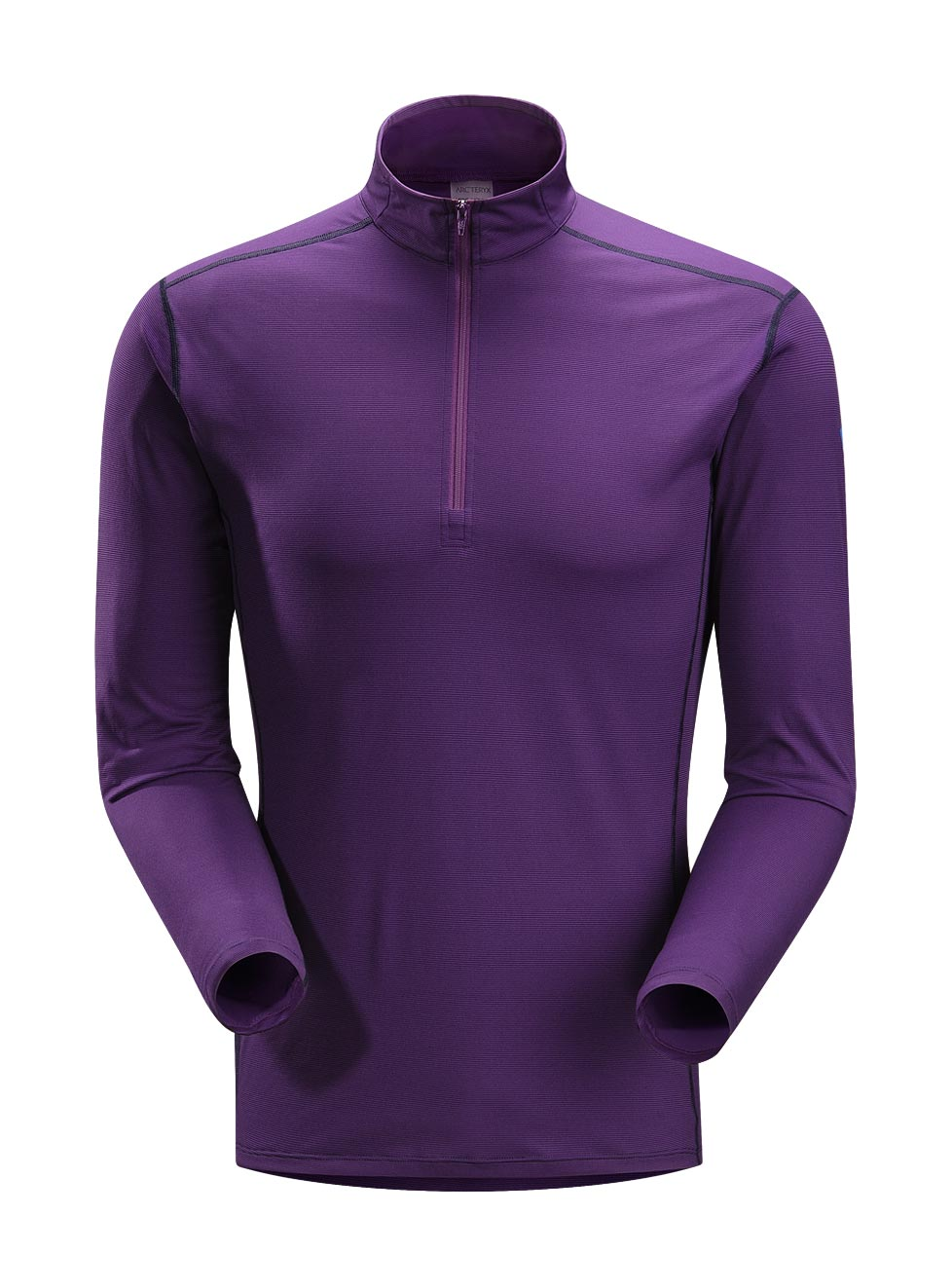 Arcteryx Men Roxo Phase SL Zip Neck