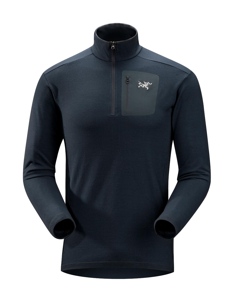 Arcteryx Men Deep Dusk Rho LTW Zip
