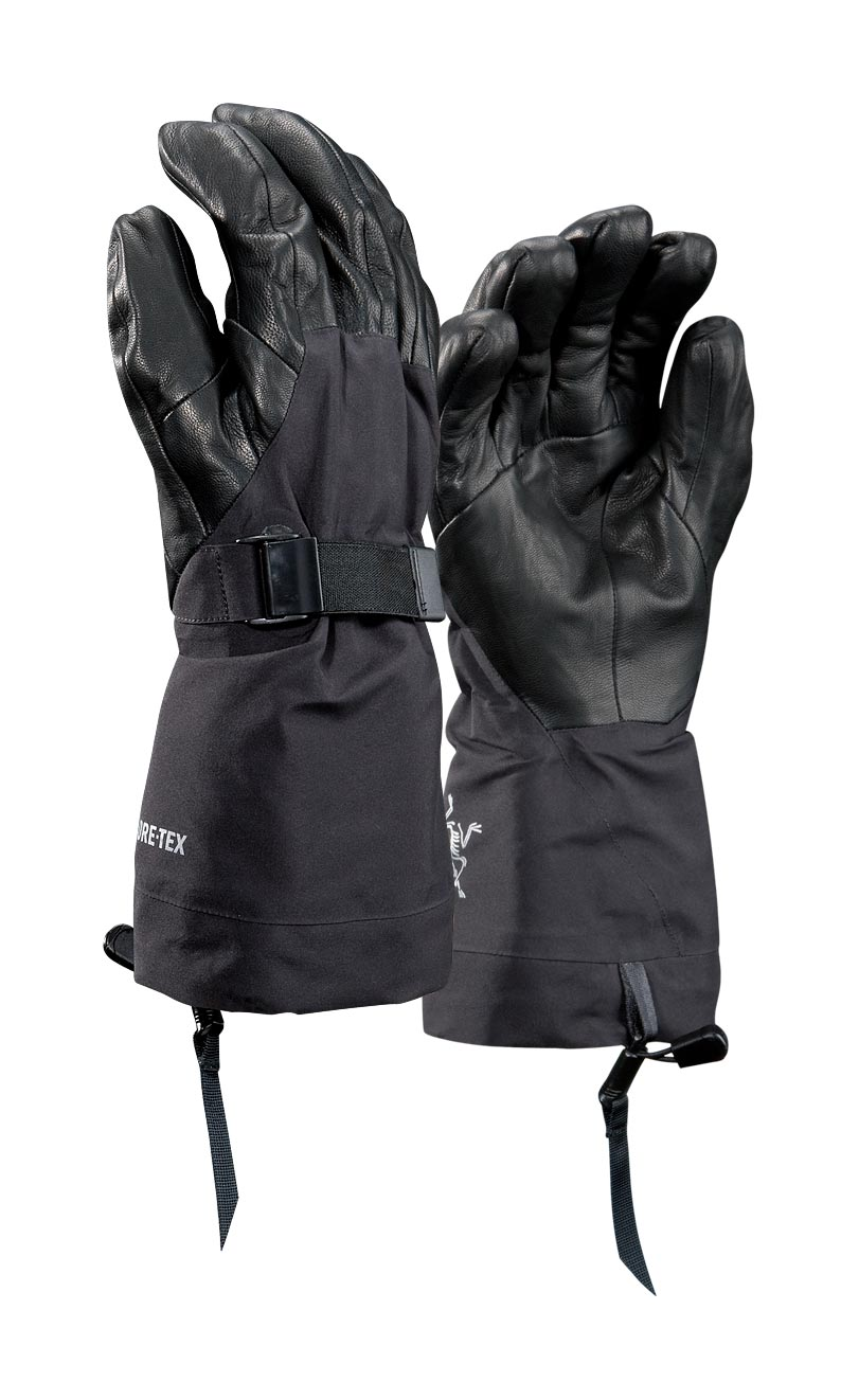 Arcteryx Men Black Alpha SV Glove