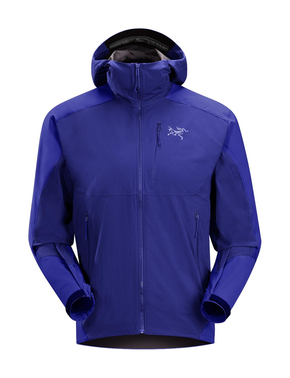Arcteryx Jackets Men Squid Ink Gamma SL Hybrid Hoody - New