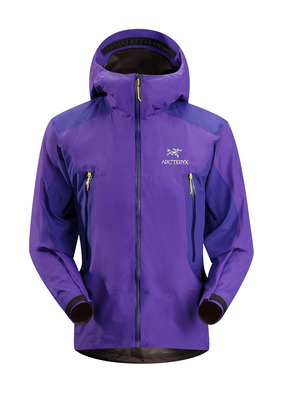 Arcteryx Jackets Men Blue Galaxy Alpha SL Hybrid Jacket - New