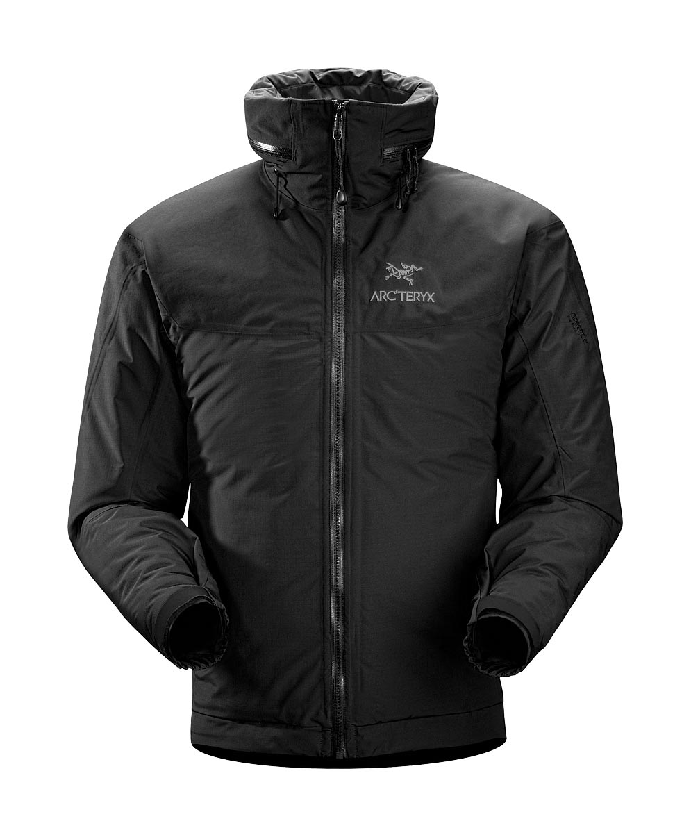 Arcteryx Jackets Men Black Fission AR Jacket