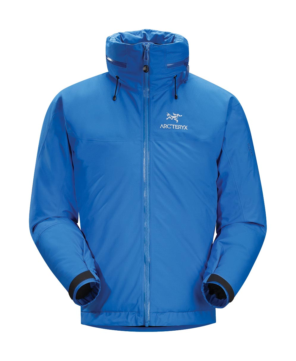 Arcteryx Jackets Men Blue Ray Fission AR Jacket