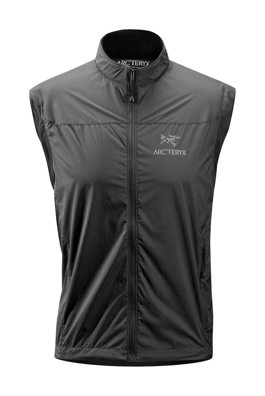 Arcteryx Jackets Men Black Celeris Vest