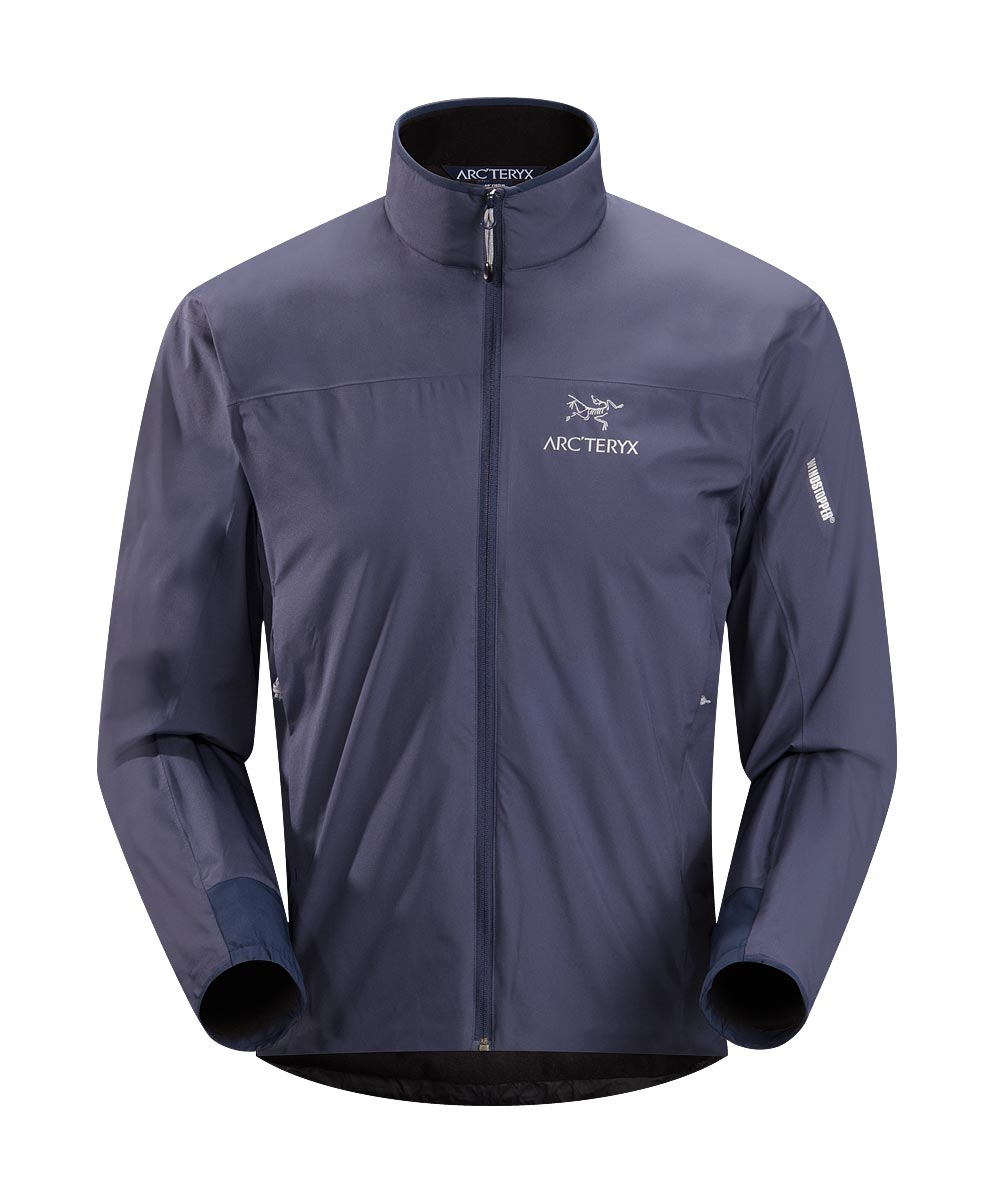 Arcteryx Jackets Men Blue Kyanite Solano Jacket