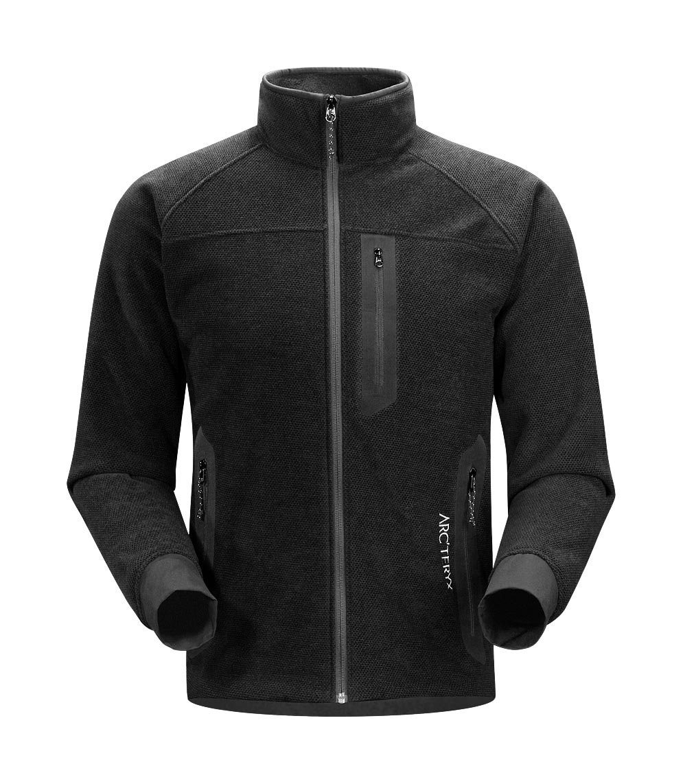 Arcteryx Men Black Strato Jacket