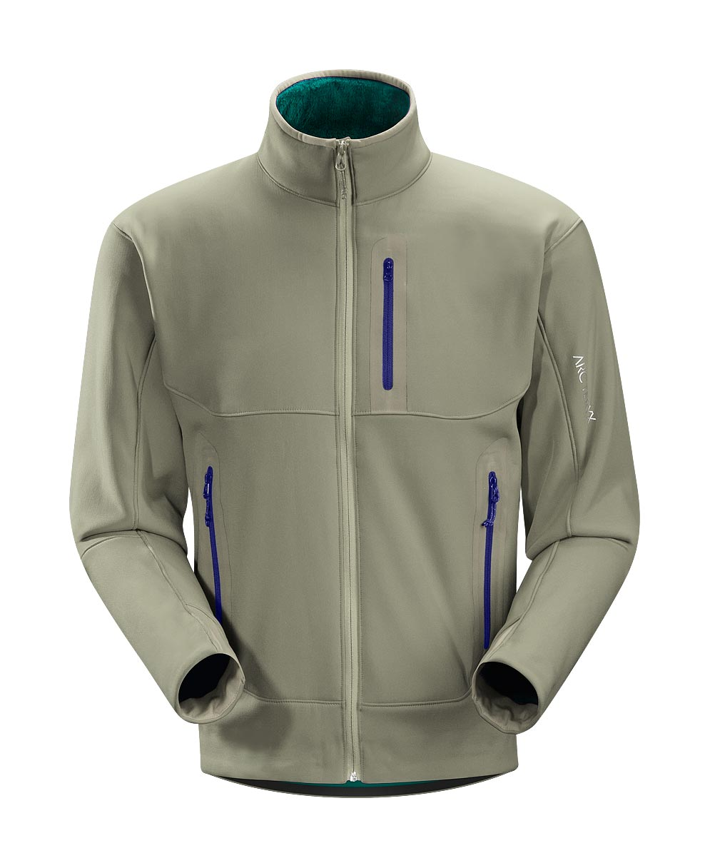 Arcteryx Men Quail Grey Hyllus Jacket