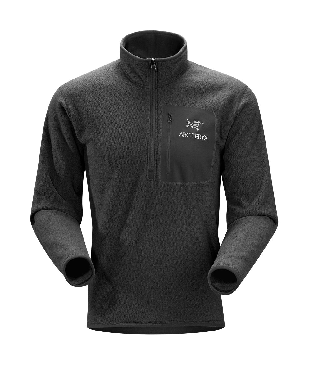 Arcteryx Men Black Apache AR Zip