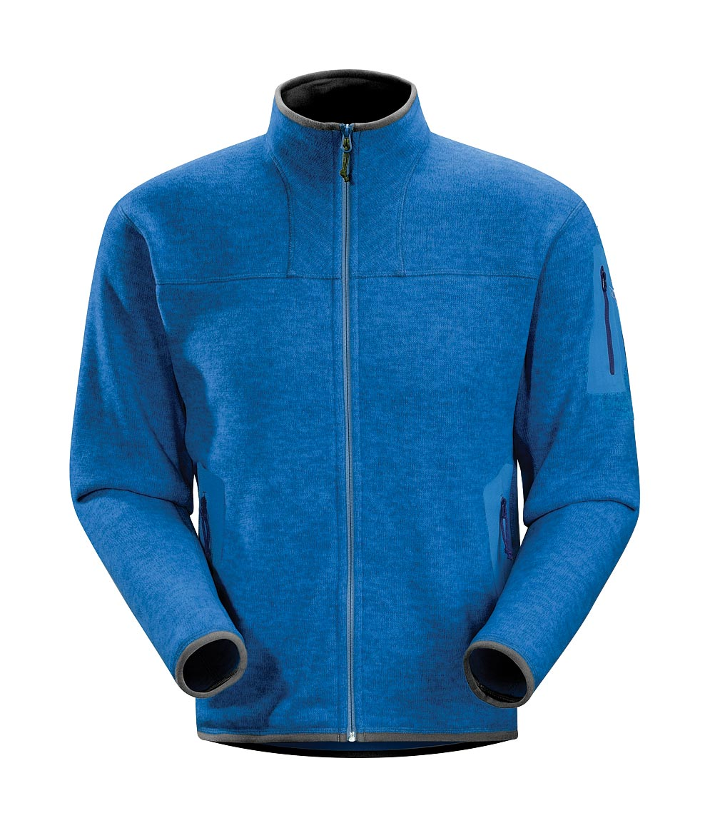Arcteryx Men Blue Ray Covert Cardigan