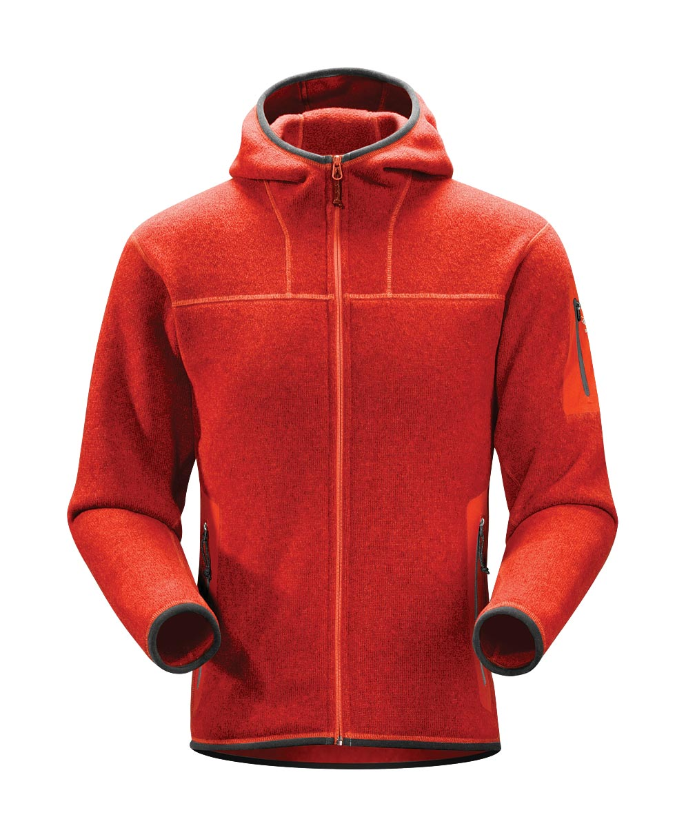 Arcteryx Men Road Rash Red Covert Hoody