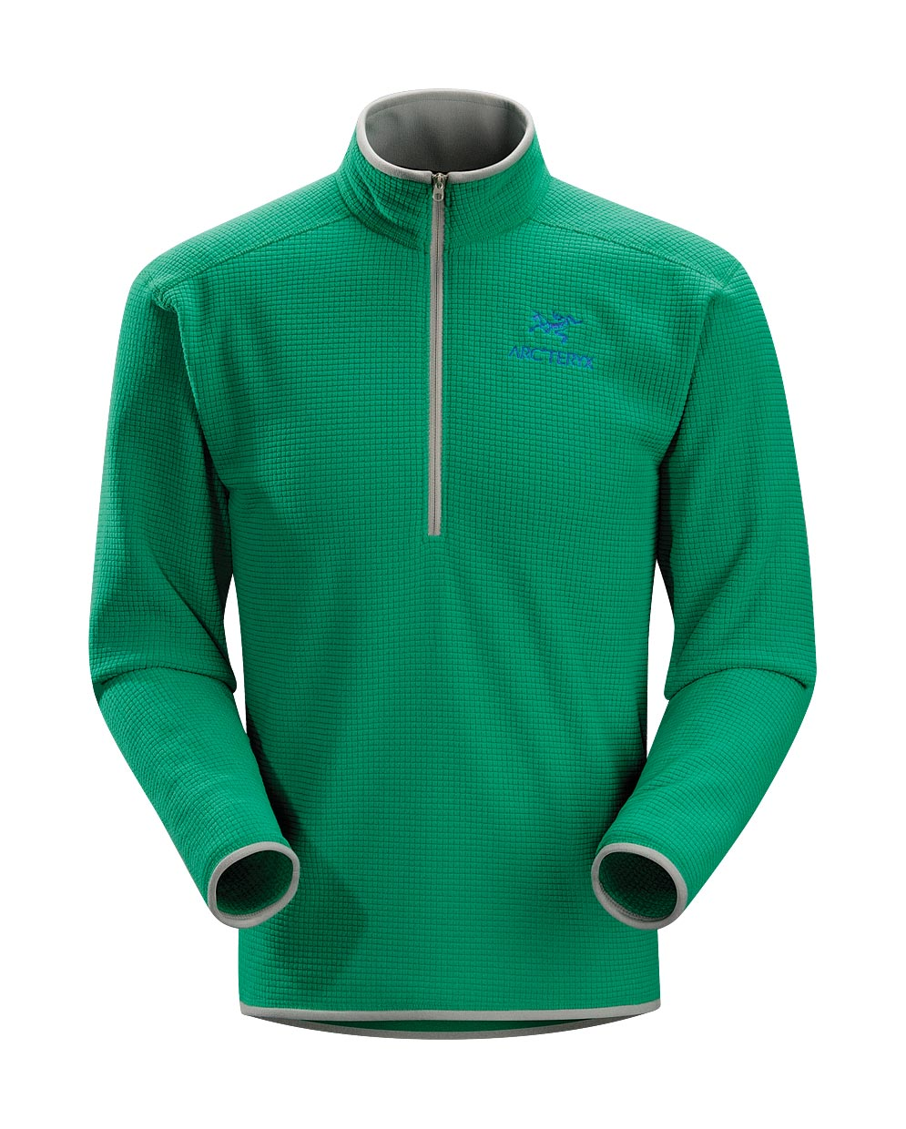 Arcteryx Men Green Light Delta AR Zip