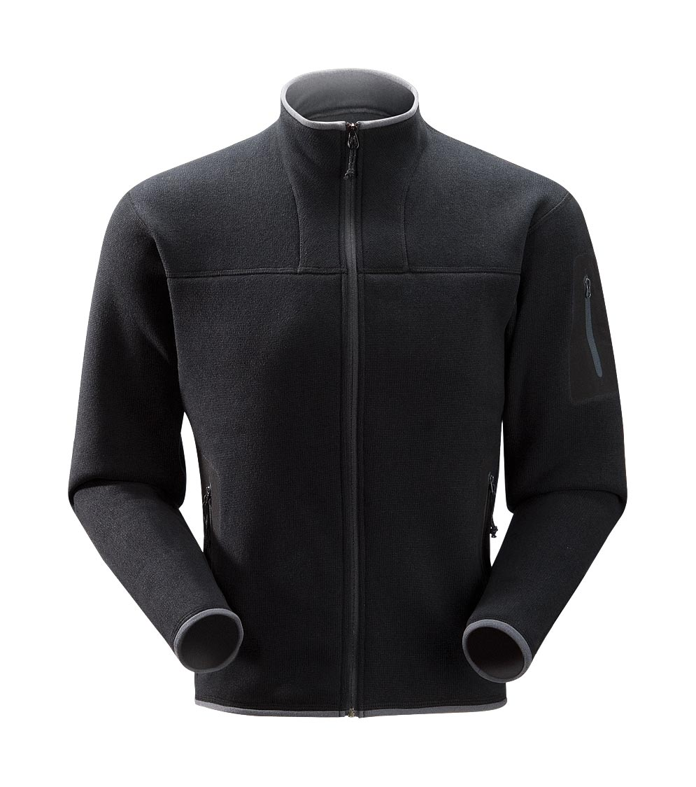 Arcteryx Men Black Covert Cardigan
