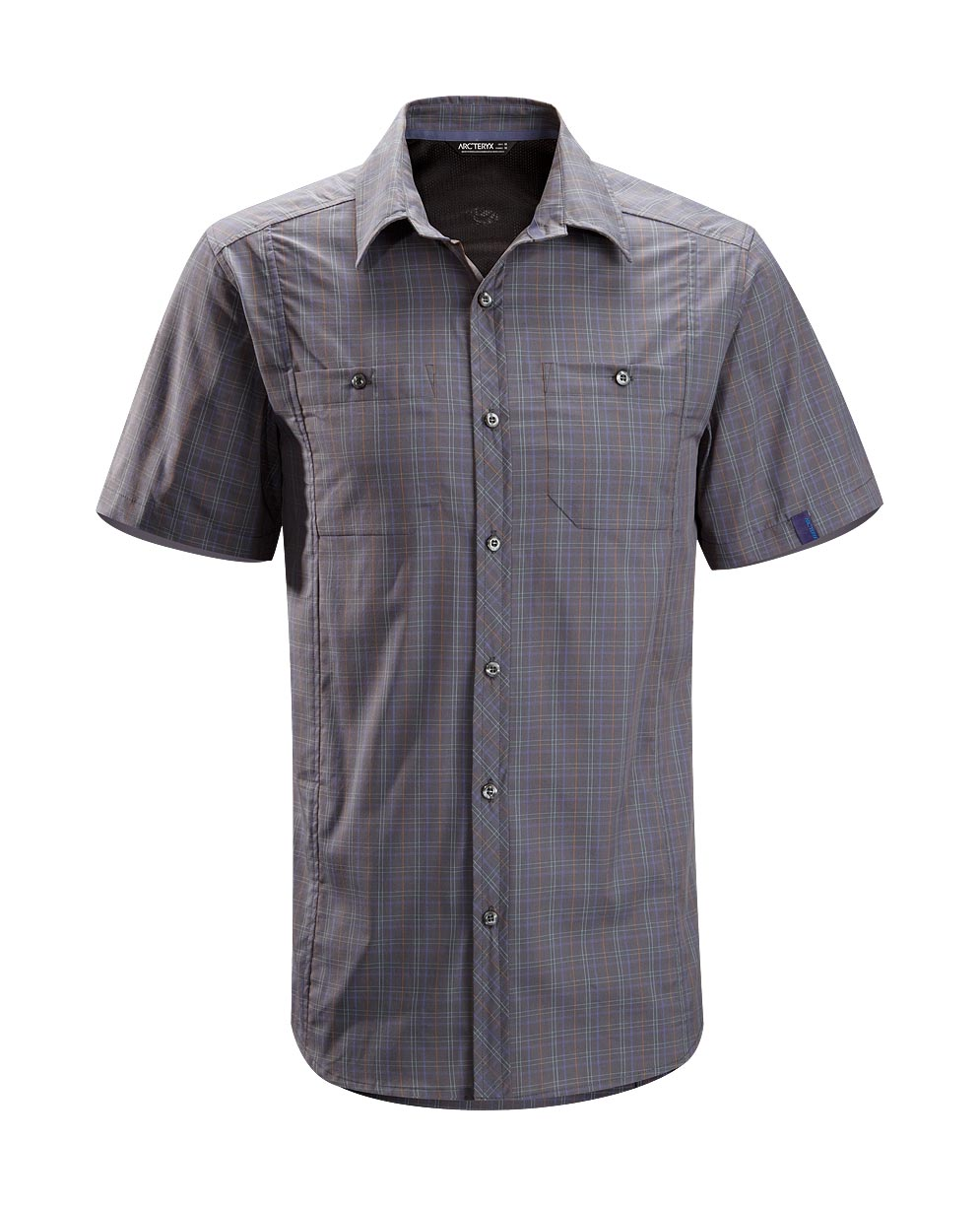 Arcteryx Men Tungsten Borderline Shirt SS - New