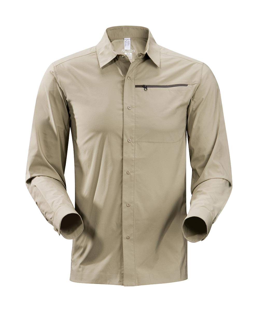 Arcteryx Men Light Carbide Skyline Shirt LS