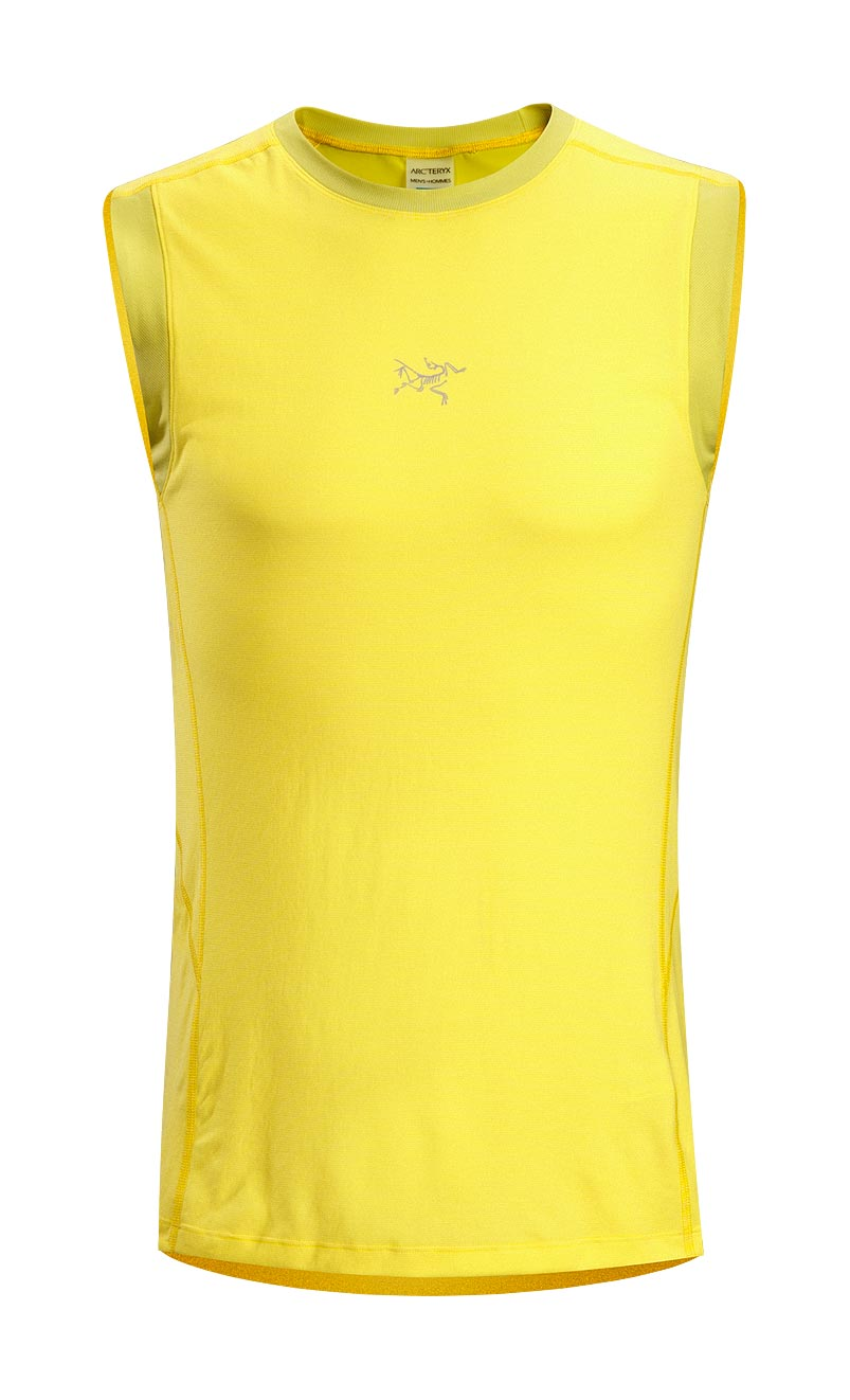 Arcteryx Men Citron Motus Sleeveless - New
