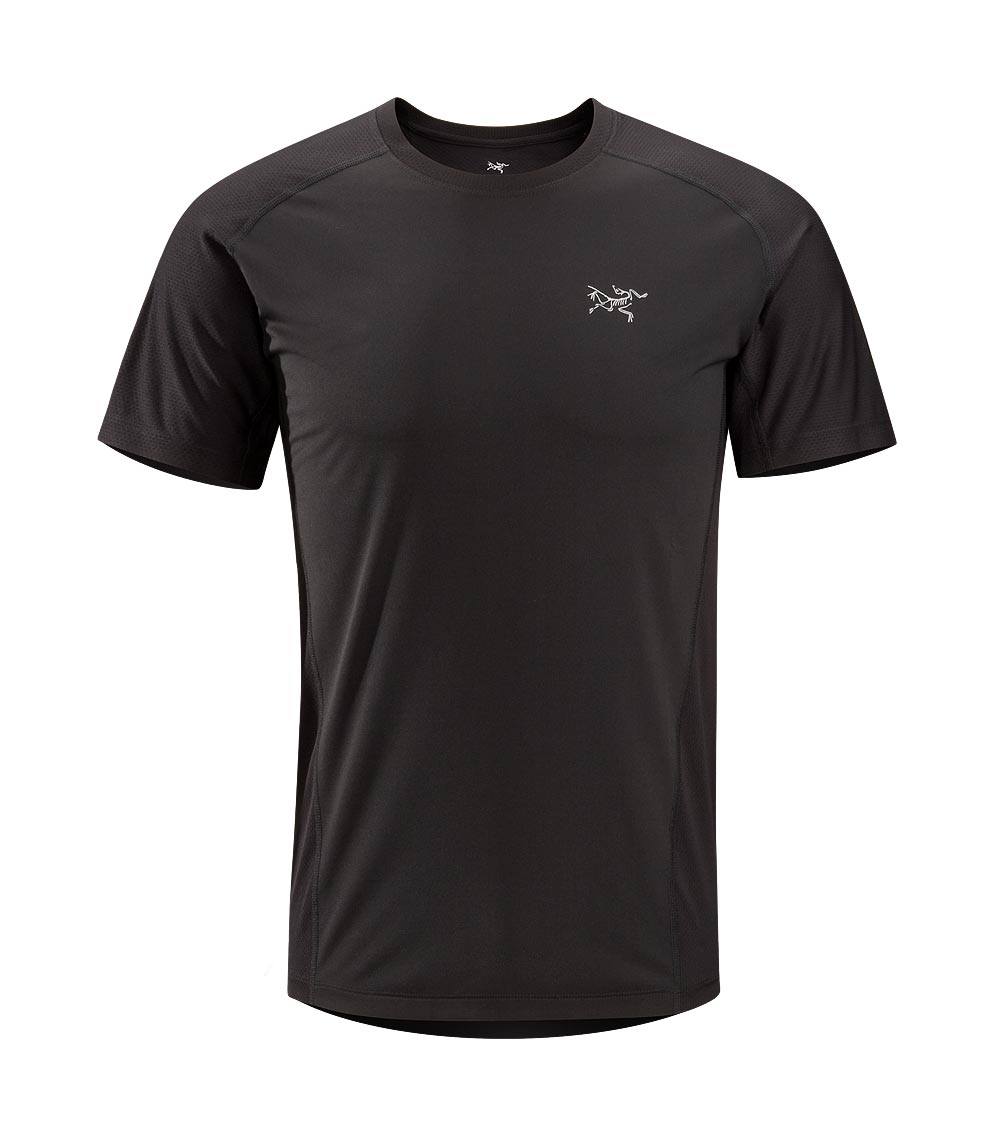 Arcteryx Men Black Velox Comp Crew