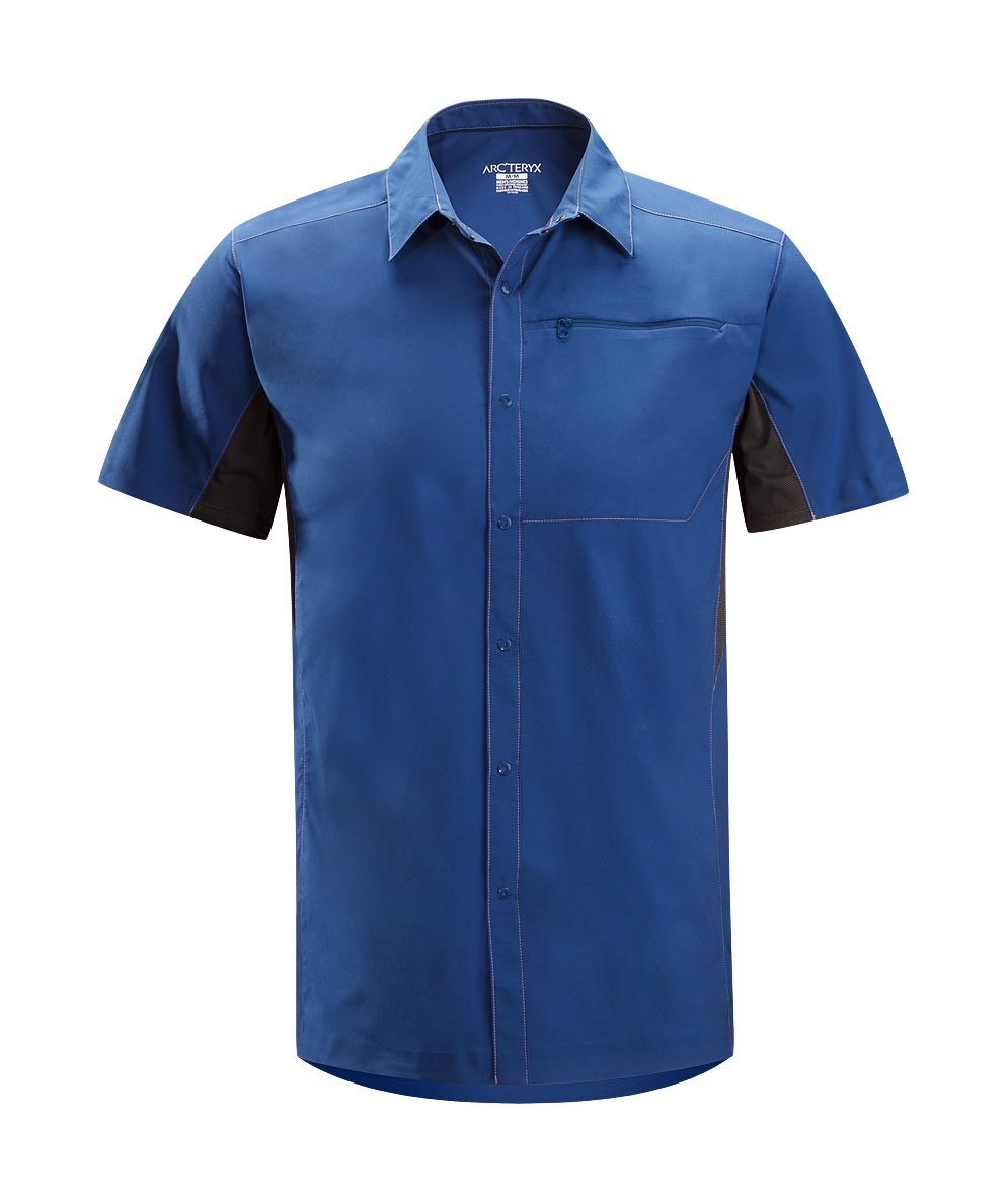 Arcteryx Men Olympus Blue Adventus Comp SS - New