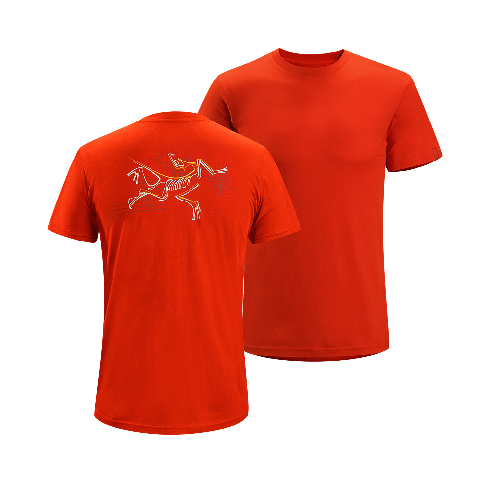 Arcteryx Men Iron Oxide Graph Bird T-Shirt