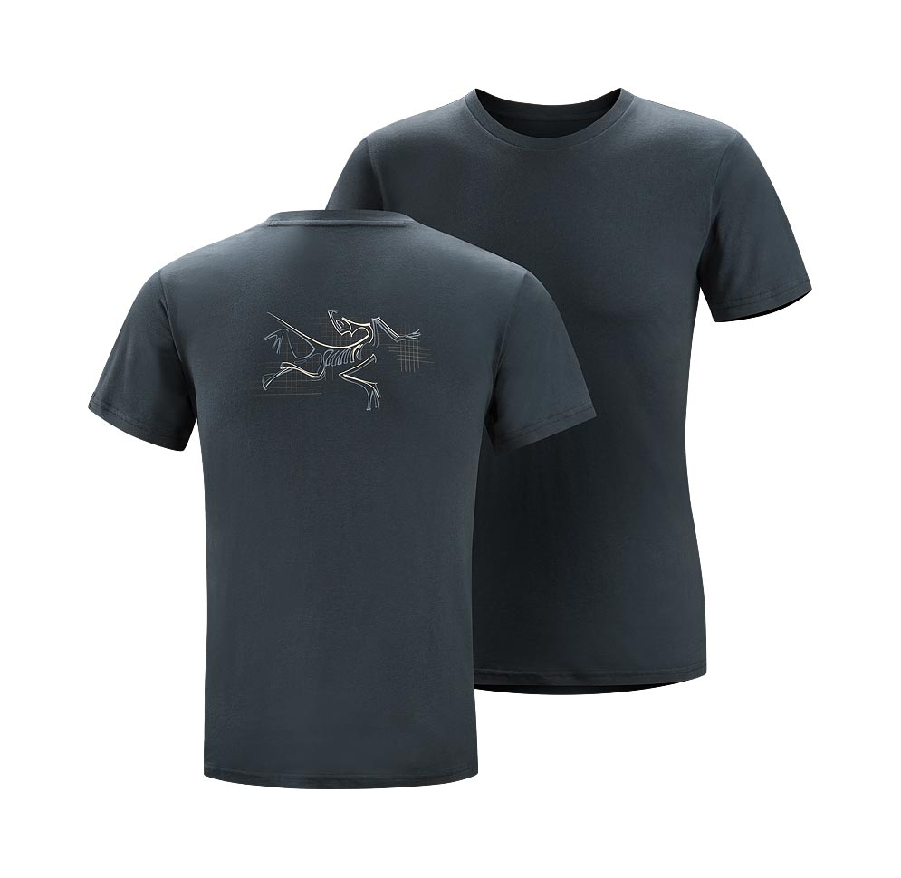 Arcteryx Men Night shade Graph Bird T-Shirt