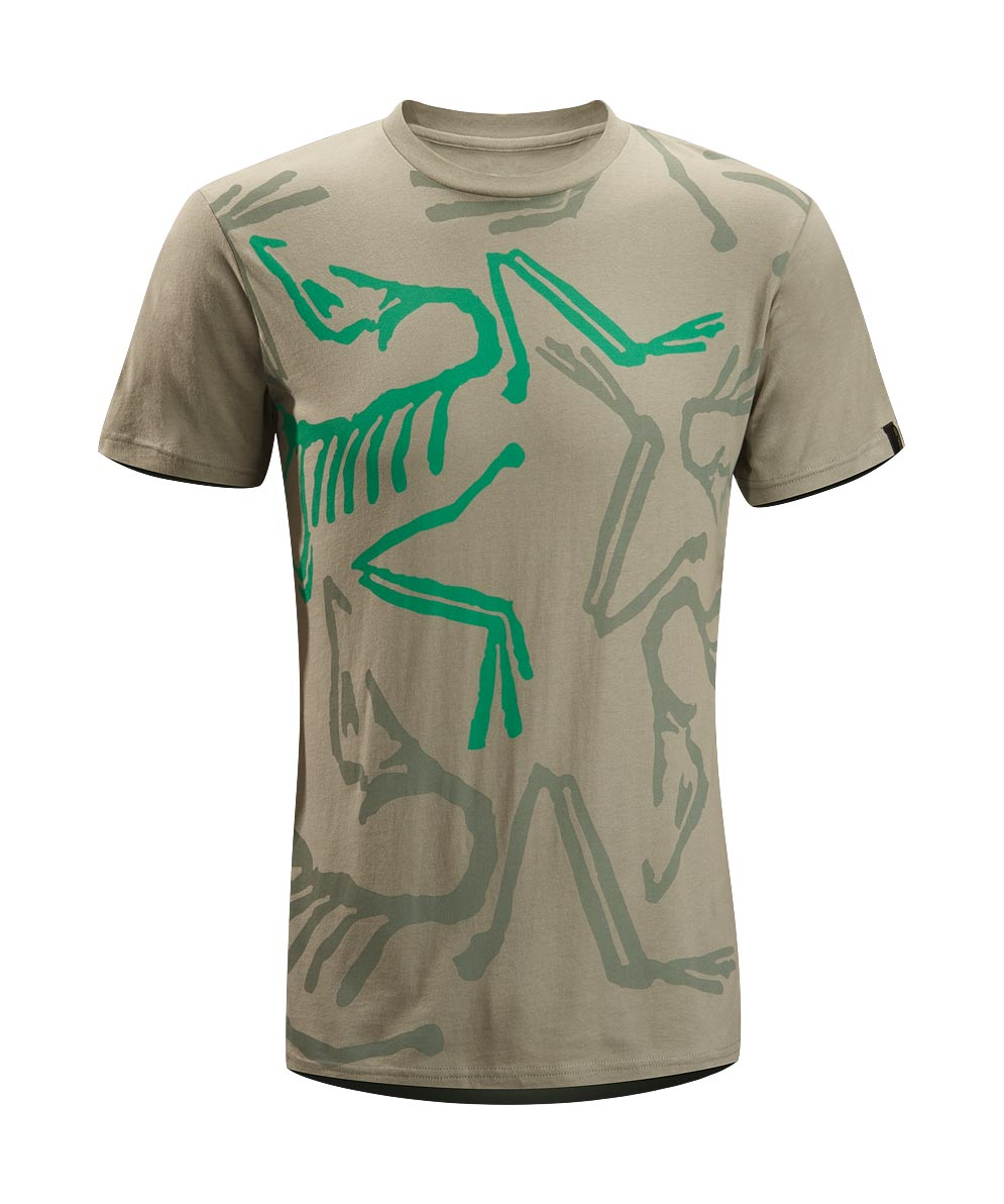 Arcteryx Men Silver Sage Front Bird T-Shirt - New
