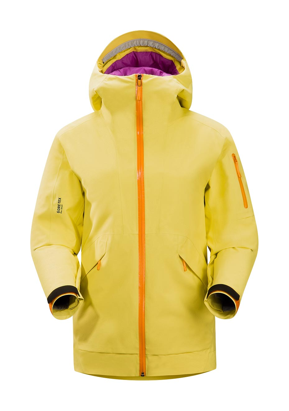 Arcteryx Jackets Women Mellow Yellow Sarissa Jacket