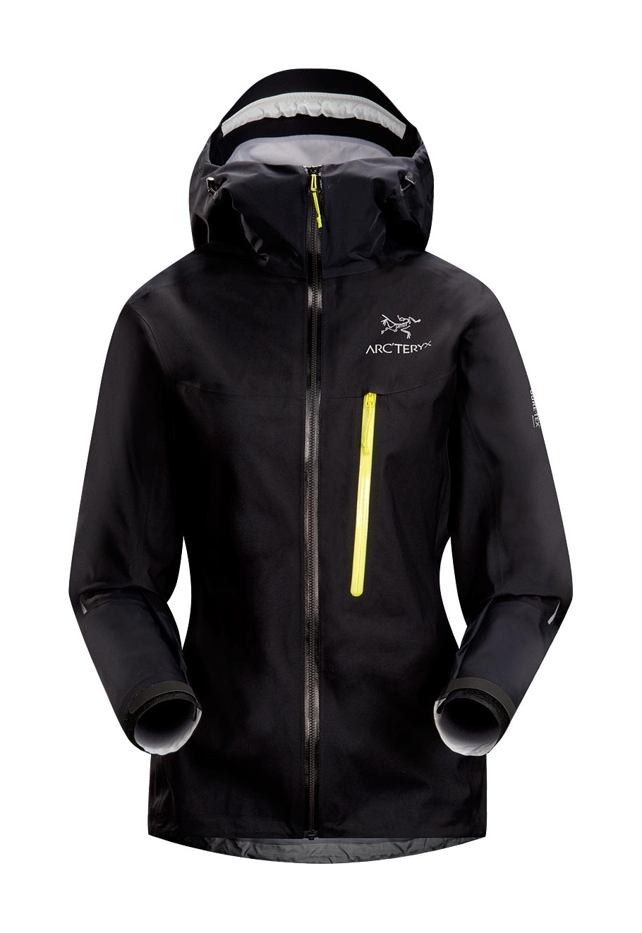 Arcteryx Jackets Women Black Alpha FL Jacket - New