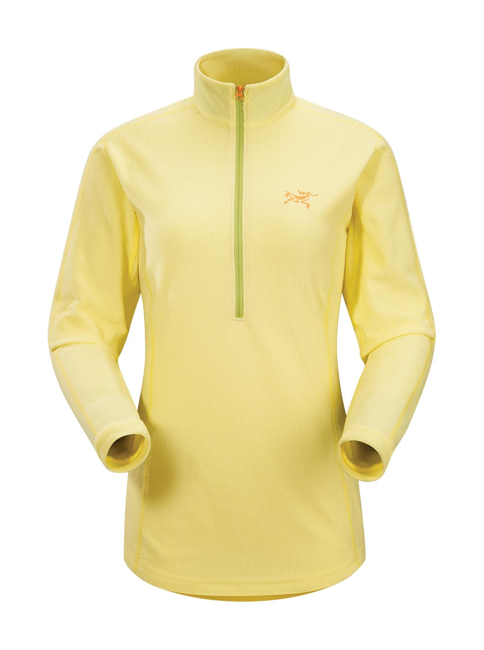 Arcteryx Women Mellow Yellow Delta LT Zip