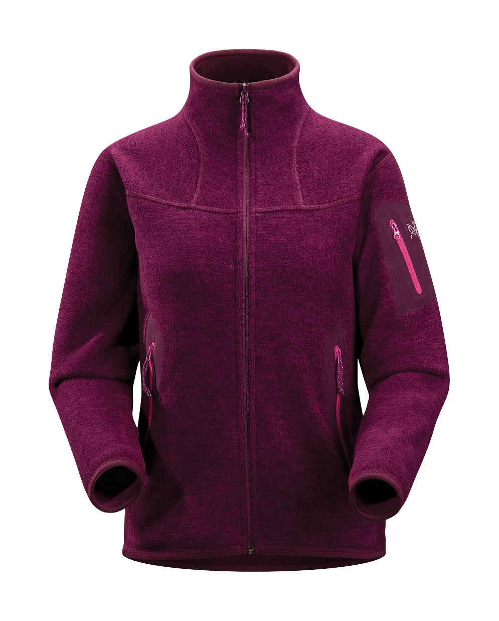 Arcteryx Women Purpura Covert Cardigan