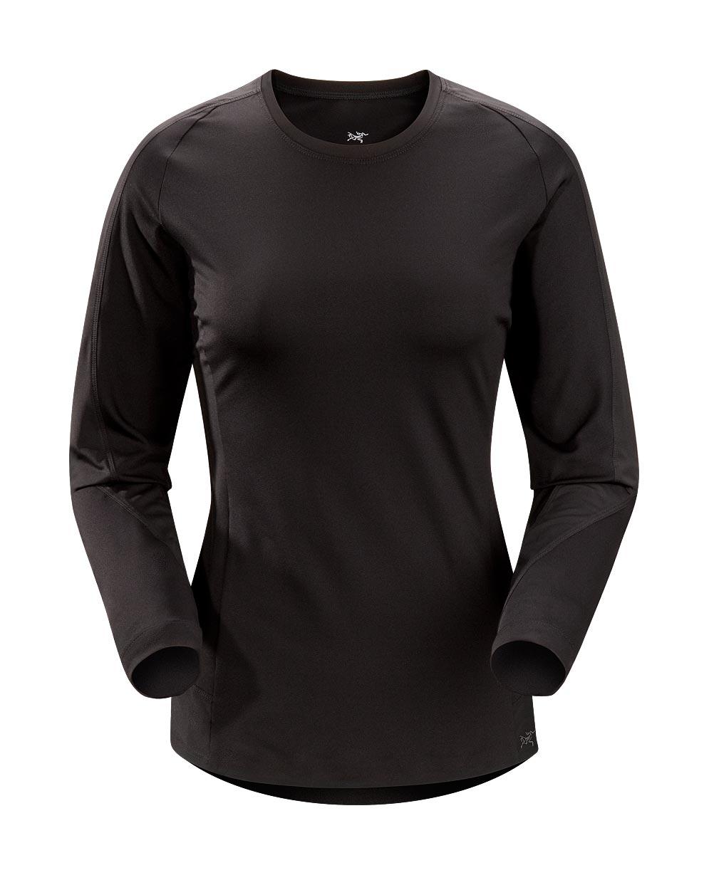 Arcteryx Women Black Mentum Comp LS