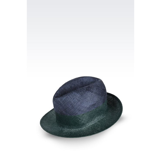 ARMANI CLASSIC TWO-COLOUR HAT