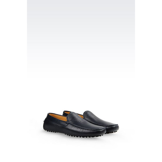 ARMANI DRIVING SHOE IN CALFSKIN