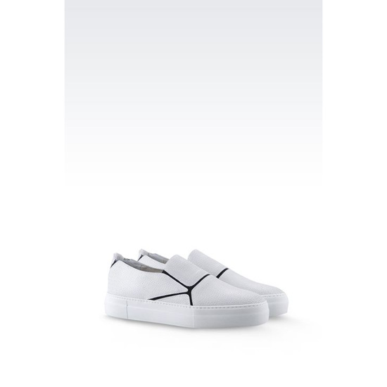 ARMANI RUNWAY SLIP-ON IN CALFSKIN