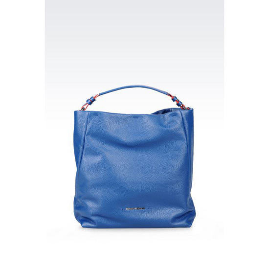 ARMANI HOBO BAG IN CALFSKIN