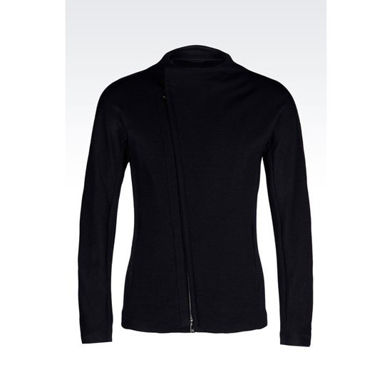 ARMANI RUNWAY BLOUSON IN TECHNICAL JERSEY