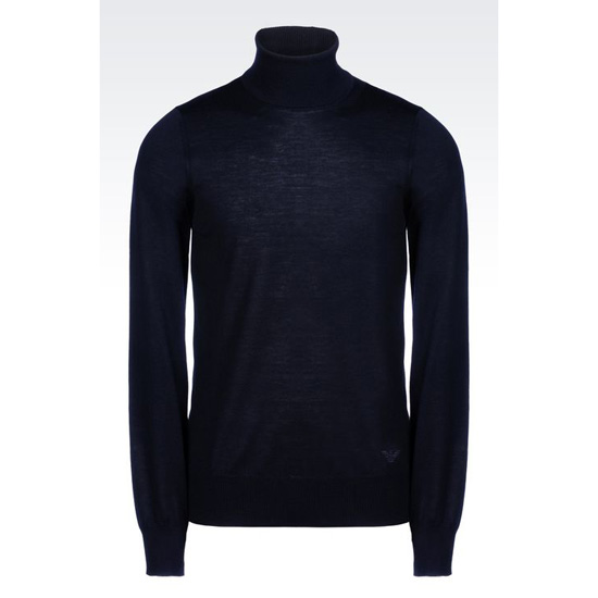 ARMANI TURTLENECK SWEATER IN SHAVED WOOL