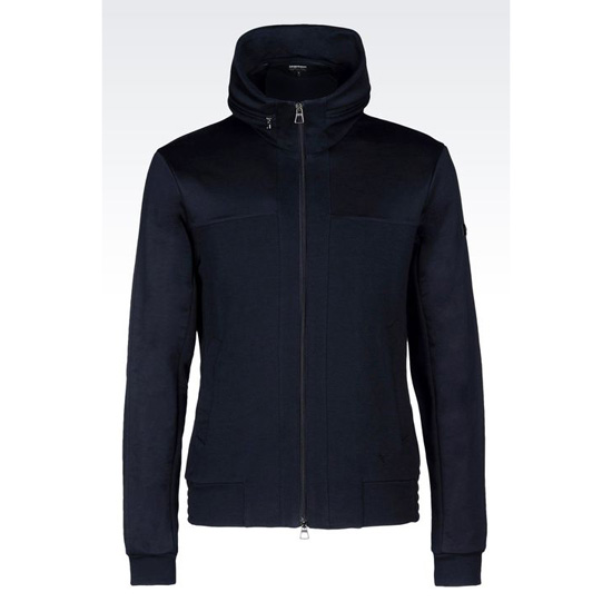 ARMANI FULL ZIP FLEECE BLOUSON
