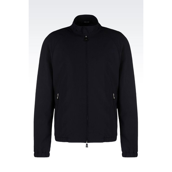 ARMANI BLOUSON IN STRETCH WOOL