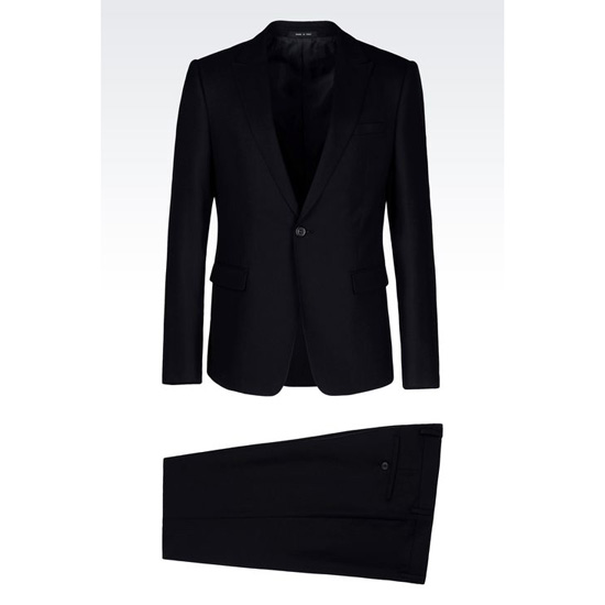 ARMANI SINGLE-BREASTED SUIT IN WOOL