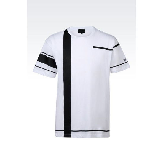 ARMANI RUNWAY T-SHIRT IN COTTON