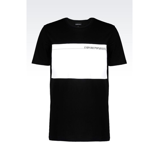ARMANI T-SHIRT IN COTTON JERSEY
